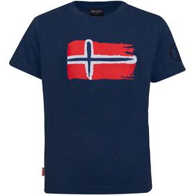 TROLLKIDS Oslo T-Shirt Enfant, navy